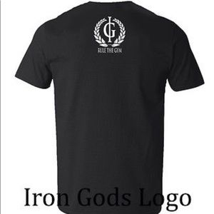 Iron Gods SWOLE Muscle T-Shirt Workout Weightlifting Bodybuilding Gym Apparel